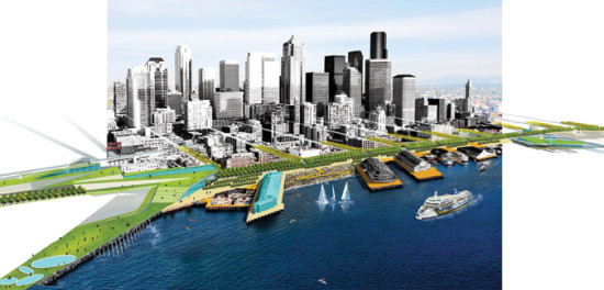 Field Operations' plan for the Seattle waterfront (Field Operations)