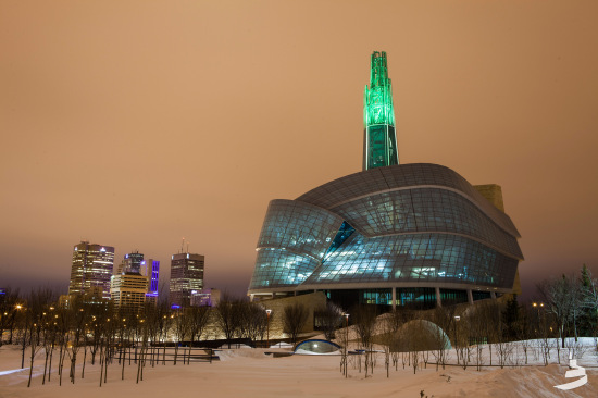 The Canadian Museum for Human Rights, designed by Antoine Predock Architect, opened last Saturday. (Jessica Sigurdson/CMHR-MCDP)
