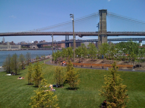 Brooklyn Bridge Park by Michael van Valkenburgh. (Flickr / Kris Arnold)