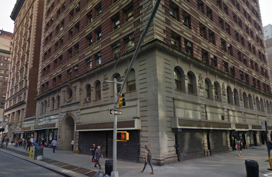 The new home of the Rizzoli Bookstore. (Courtesy Google)