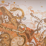 On View> Yusuke Asai paints with mud at Houston's Rice Gallery