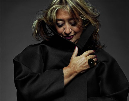 Zaha. (COURTESY ZAHA HADID ARCHITECTS)