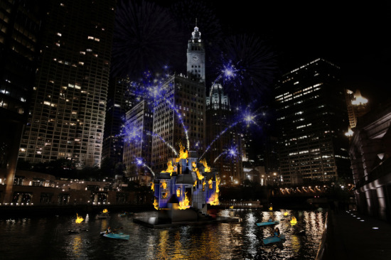 The inaugural Great Chicago Fire Festival takes place October 4. (Redmoon Theater)
