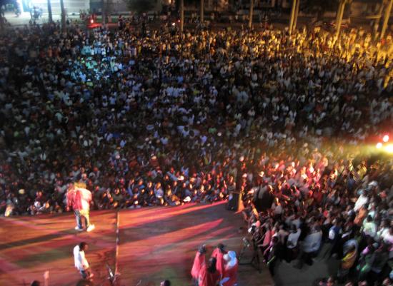 Studios Kabako performance. (Courtesy Curry Stone Foundation)