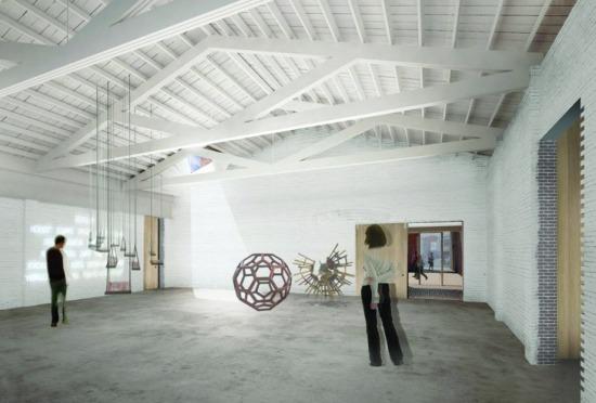 Art space.  (Courtesy MABU Design)