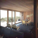 Philip Johnson's Farney House in Sagaponack, New York has been demolished