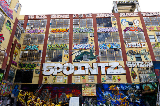 5Pointz back in 2011. (Flickr / Dan Nguyen)