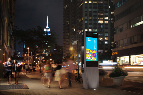A link in the Flatiron District. (Courtesy CityBridge)