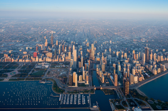Chicago, photographed by Iwan Baan for the inaugural Chicago Architecture Biennial.
