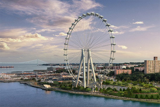 The New York Wheel is planned for Staten Island. (Courtesy New York Wheel)