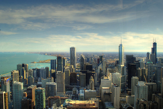 Chicago, one of the Rockefeller Foundation's 100 Resilient Cities. (Flickr / Conway Yao)