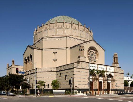 Unique exterior of Wilshire Temple (Tom Bonner)