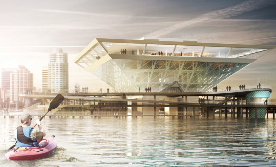 Destination St. Pete Pier plan. (Courtesy St. Pete Design Group)