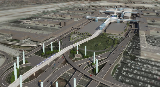 LAX People Mover plan (LAWA)