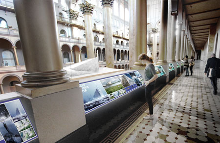 """HOT TO COLD"" at the National Building Museum. (Courtesy National Building Museum)"