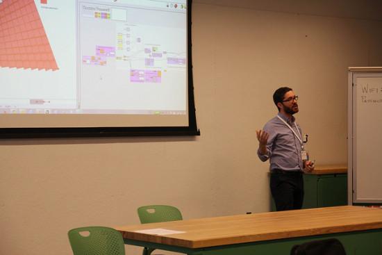 Facades+ tech workshops offer hands-on exposure to digital design methods.