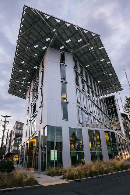Seattle's Bullitt Center was designed to be the world's greenest office building. (Taomeister/Flickr)