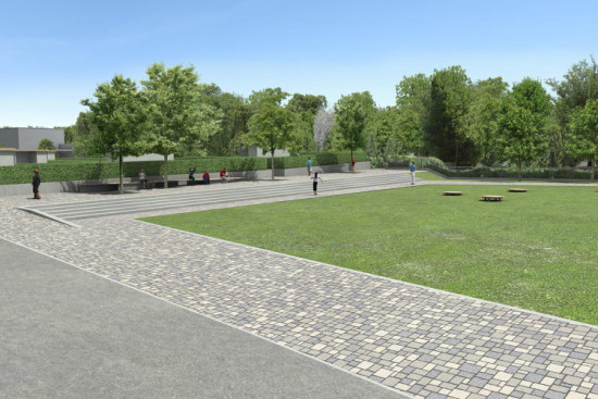 A new park. (Courtesy hochtief solutions)