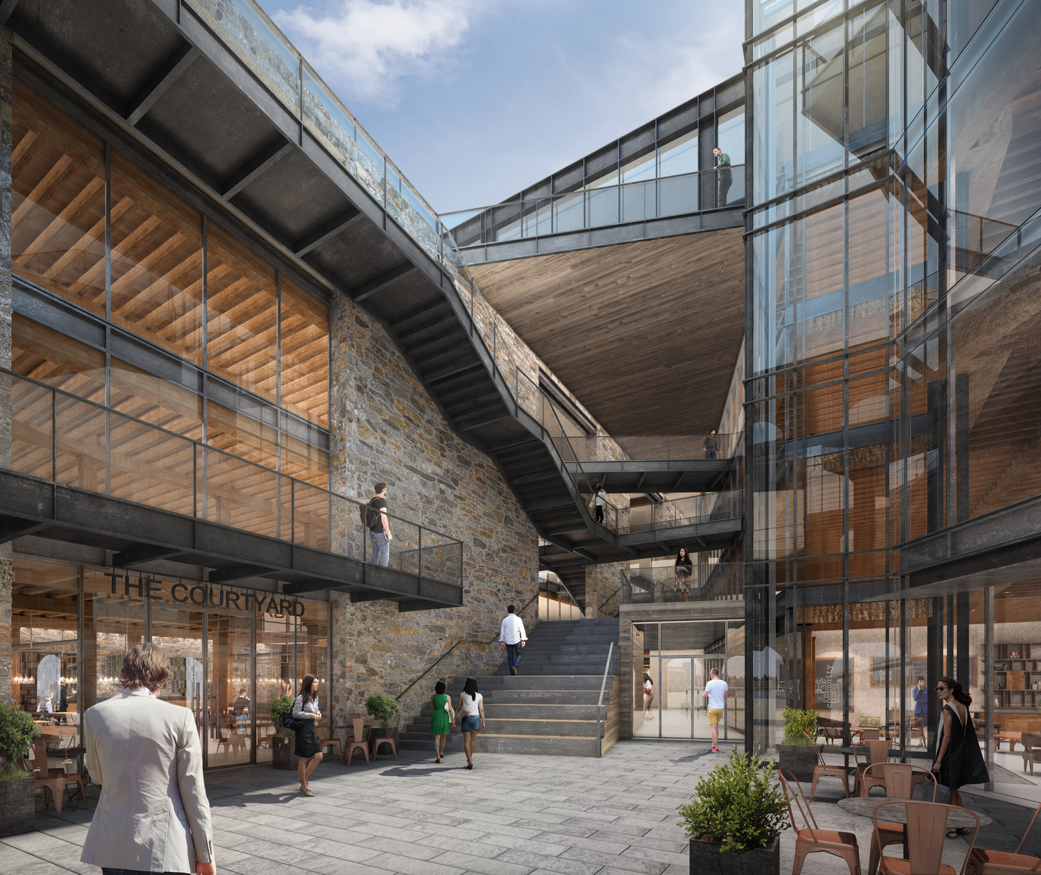 Dumbo 39 s enormous empire stores warehouses are going to be for Architecture jobs nyc