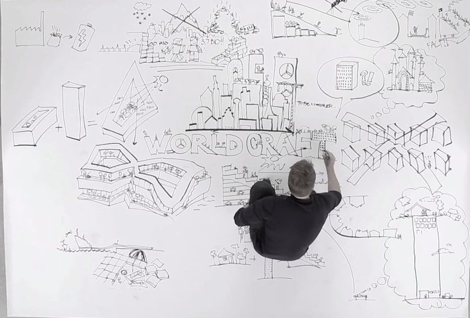 Video bjarke ingels sketches the future of architecture on the floor beneath his feet - Fahouse a story telling architecture ...
