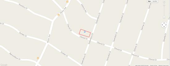 Map of the Bradbury's neighborhood (Google Maps)