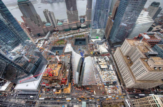 The World Trade Center site. (Courtesy Port Authority)
