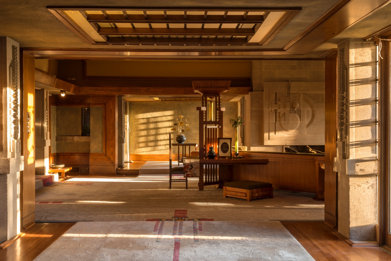 Frank lloyd wright 39 s hollyhock house re opening in los for Hollyhock house