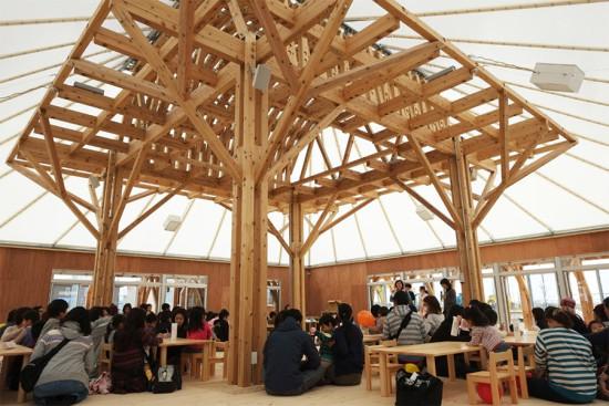 Mitazono Wakaba Kindergarten was part of Architecture for Humanity's Tohoku Earthquake Tsunami Rebuilding . (Courtesy Arch for Humanity)