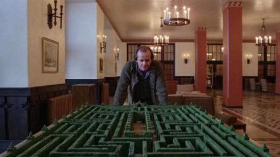 The Shining maze.