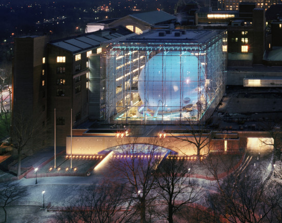 The Rose Center at the American Museum of Natural History (David Sundberg/ESTO)
