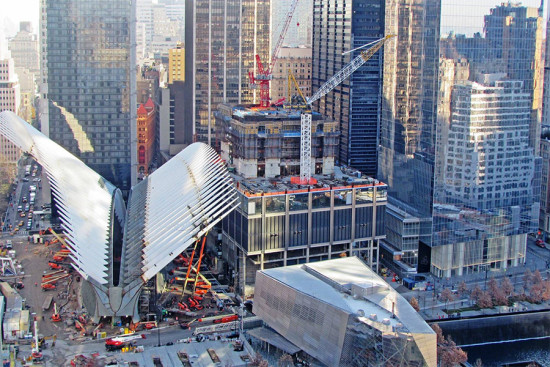 Santiago Calatrava's transit center in New York City. (Courtesy Port Authority)