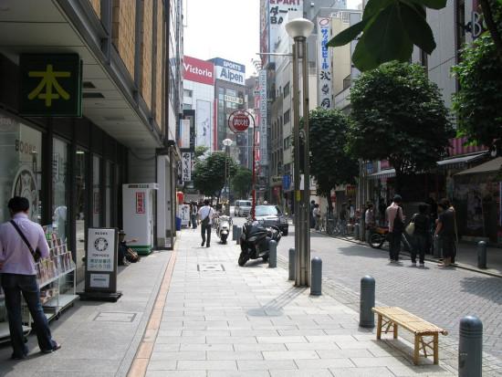 A woonerf street in Jimbocho, Tokyo. (Rob Ketcherside via Flickr)