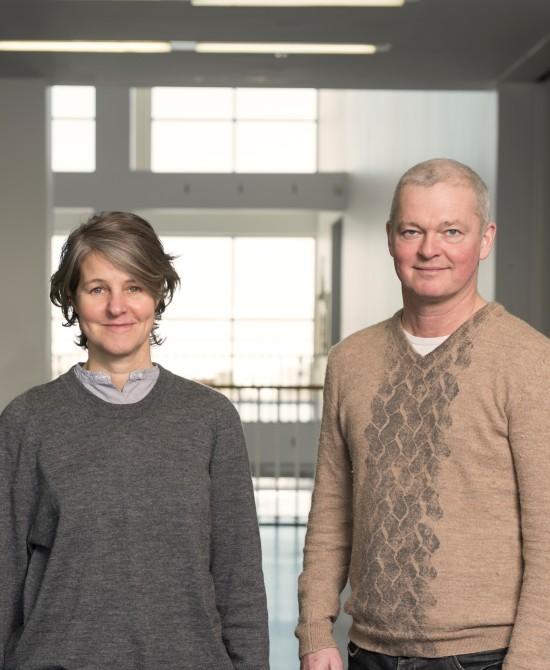 Armand Mevis and Linda Van Deursen of Mevis & Van Deursen (Nathan Keay)