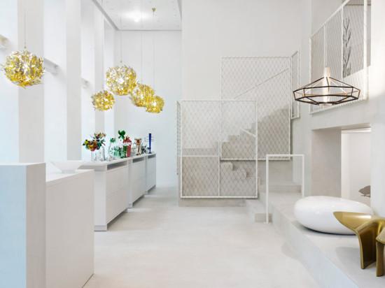 Driade's new showroom in Milan (Courtesy Santi Caleca)