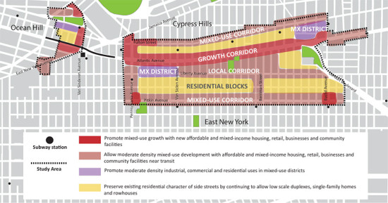 Details of the rezoning. (Courtesy NYC)