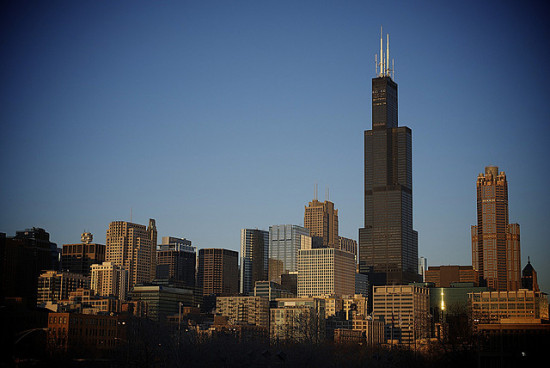 Chicago's Willis Tower in 2010. (Monika Thorpe via Flickr)