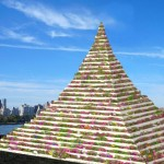 Remember the Battery Park City wheatfield? Conceptual artist is back with a horticultural pyramid in Queens