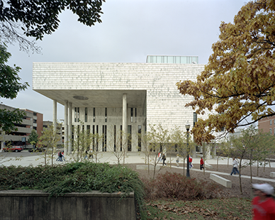 Austin E. Knowlton School of Architecture at The Ohio State University. (Mack Scogin Merrill Elam Architects)