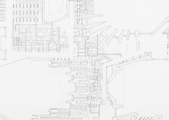 Brian Diaz degree project, plan detail. (Brian Diaz)