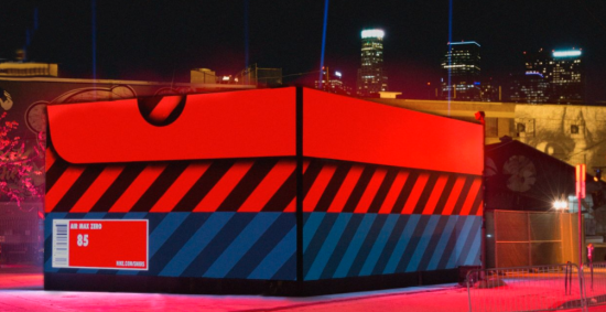 Street view of the Air Max Box (Nike)