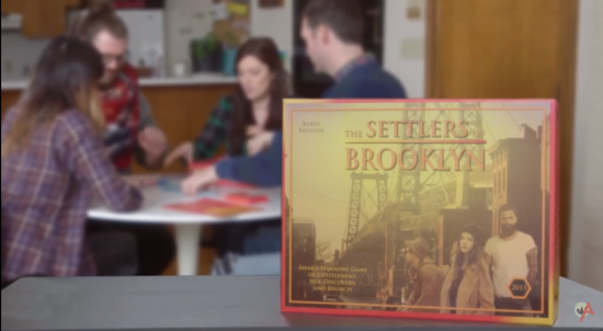 "In ""Settlers of Brooklyn,"" players compete to ""colonize"" the outer boroughs. (Above Average)"
