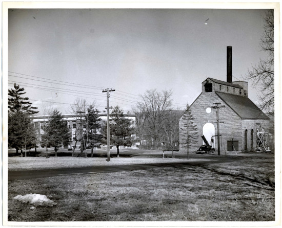 The steam plant c. 1933. (Courtesy Bruner/Cott)