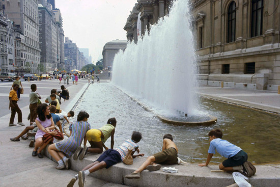 The old Met plaza. (Courtesy Paul Gunther)
