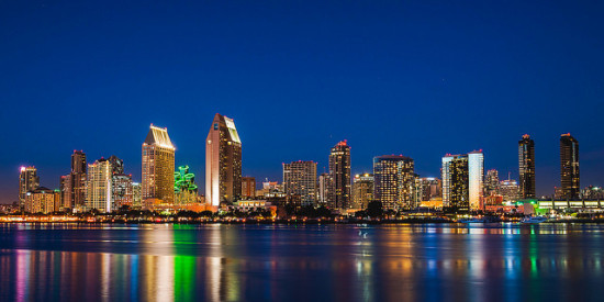 San Diego skyline. (Tours Departing Daily / Flickr)