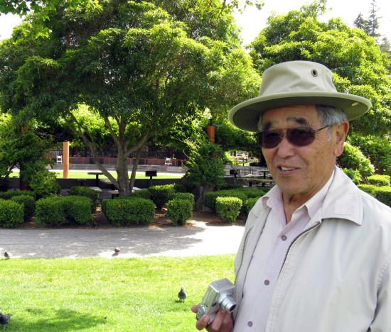 Asa Hanamoto at Santa Clara Central Park (Charles Birnbaum)
