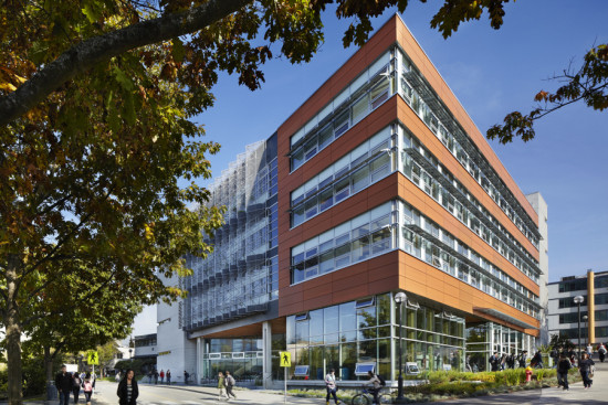 Perkins+Will designed UBC's Centre for Interactive Research on Sustainability to communicate net positive building strategies. (Martin Tessler / Courtesy Perkins+Will)