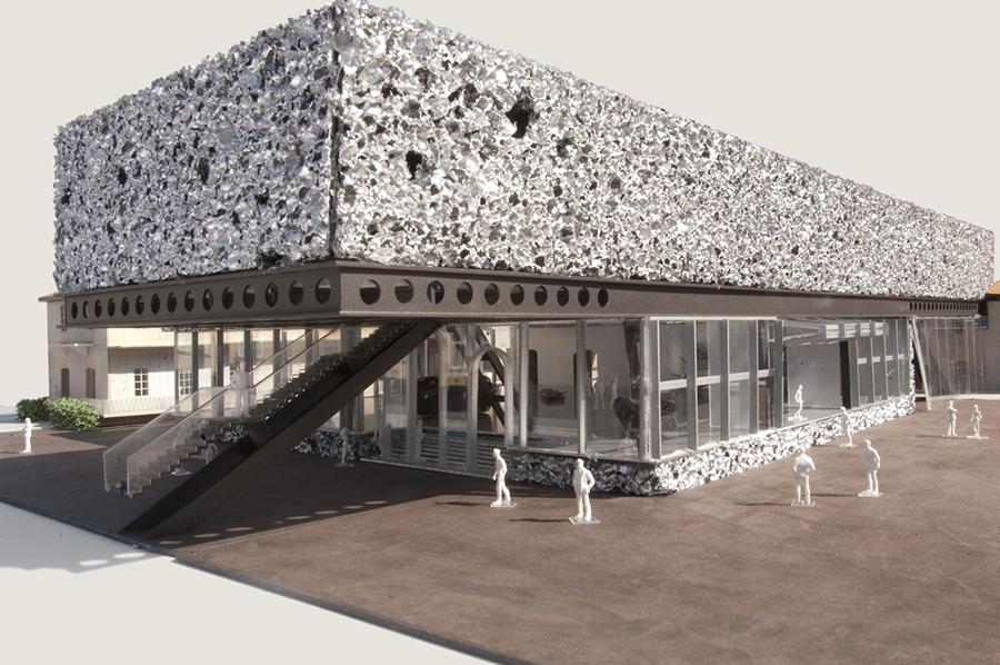 More in milan rem koolhaas 39 arts complex for prada brings for Fondation prada milan