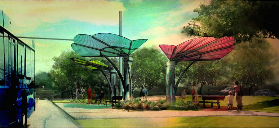 These Competition Winning Bus Shelters In Austin Will