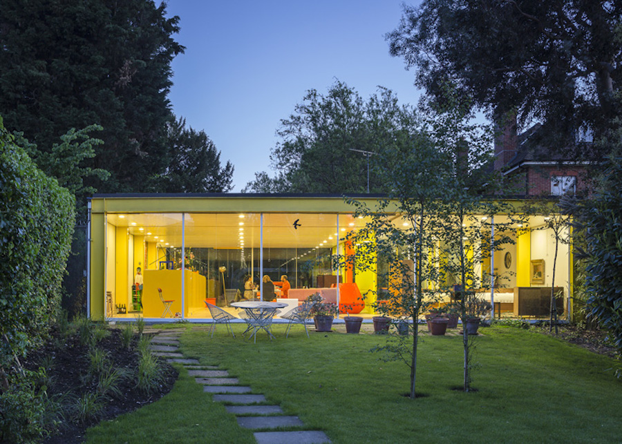this colorful modernist house to the harvard graduate school of design
