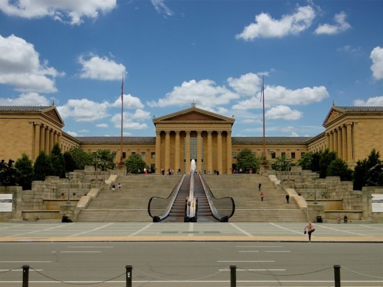 Famous Rocky Stairs (Courtesy F. Aprile for VISIT PHILADELPHIA)